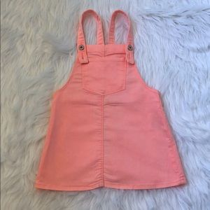 Zara girls neon pastel romper skirt dress size 5 6